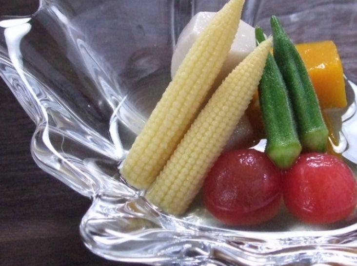 夏野菜の冷たい小鉢