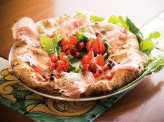 Pizza Di Natale(クリスマス リース型ピザ)