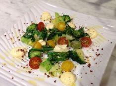 春野菜のカルボナーラ仕立て