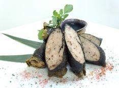 海苔と鶏挽き肉のこしょう揚げ チョリソー風