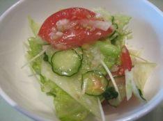 葱油沙拉(葱で和えた野菜サラダ)