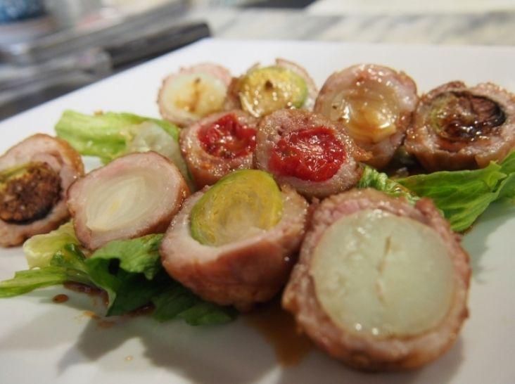 春野菜の肉巻き