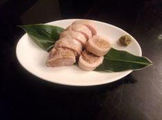 かつお節味噌チキンロール