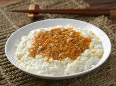 鴛鴦芺蓉蟹蚕白:ふわふわ卵白2種(上海蟹とタラバ蟹)あんかけ