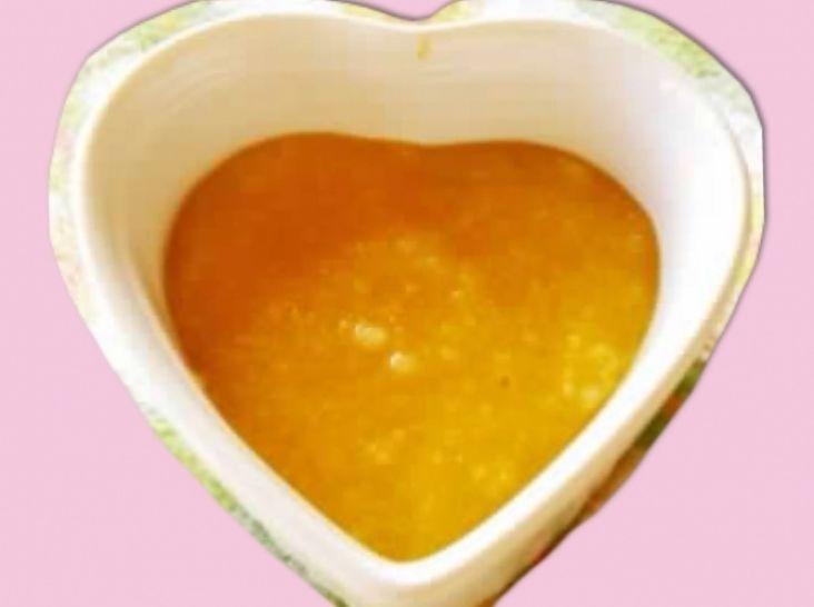 かぼちゃ風味のお粥さん~生まれてはじめての食育~離乳食