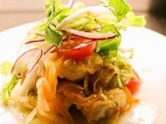 金子農園さんの旬野菜と白身魚のカルピオーネ
