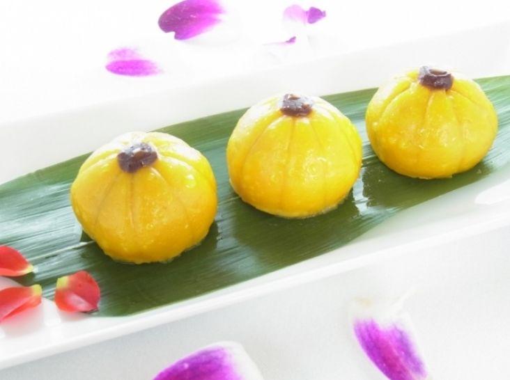 南瓜餅:かぼちゃ団子