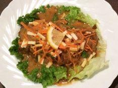 秋野菜のカレーチキンステーキ
