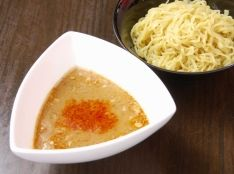 昆布巻出汁の魚介系「にしんつけ麺」