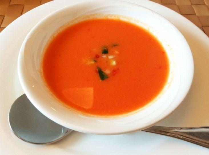ガスパチョ トマトの冷たいスープアンダルシア風