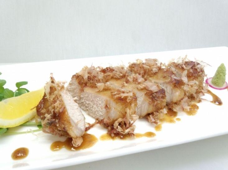 かつお香る 豚肉のほんのりワサビ焼き