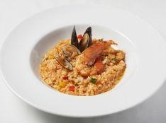 魚介と野菜のアロス・メロッソ