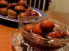 栗の渋皮煮・アールグレイ風味(圧力鍋使用)