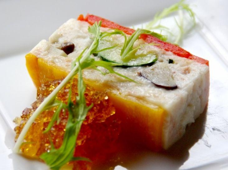 NERI - 和風ホワイトソースの野菜テリーヌ