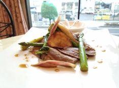 春野菜の和風ポン酢タリアータ
