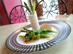 春野菜のサラダ エビマヨソース