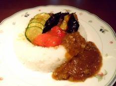 麻婆茄子カレー