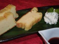 和と洋のマリアージュ 豆腐とヨーグルトの濃厚焼きケーキ