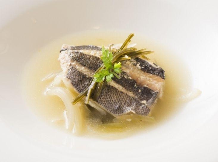 白身魚のエチュベ