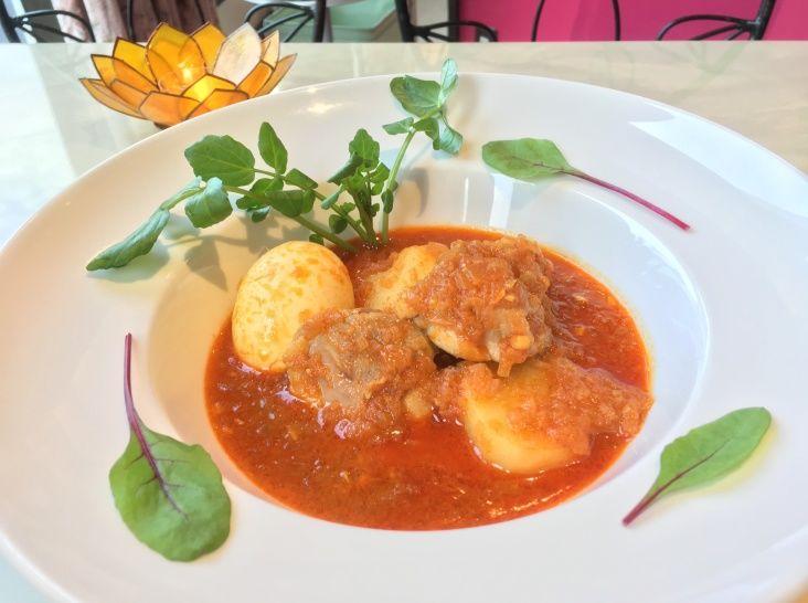ミャンマー風スープカレー