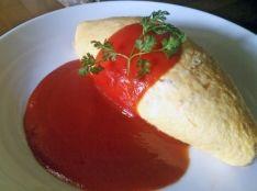 オムライス《食博覧会2013での料理教室のレシピ》