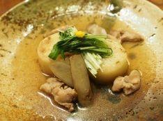 長芋と牛蒡のハリハリ煮〜白醤油で〜