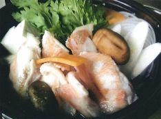 カサゴの酒蒸しスープ鍋