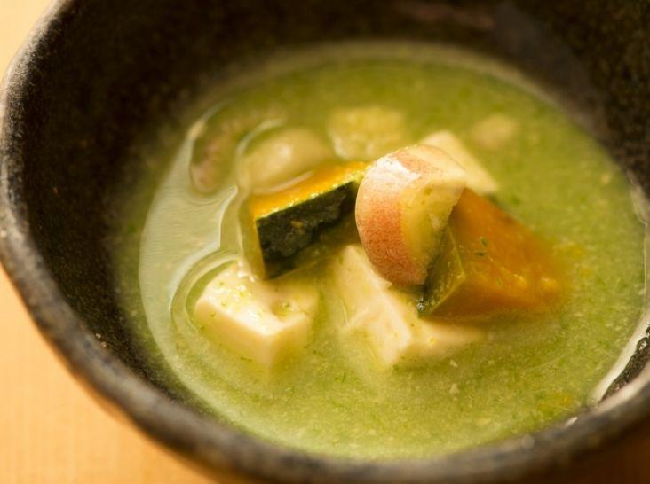 家庭で簡単 オクラの冷たいスープ