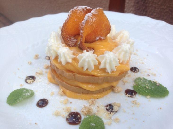 バターナッツかぼちゃのミルフィーユ仕立て