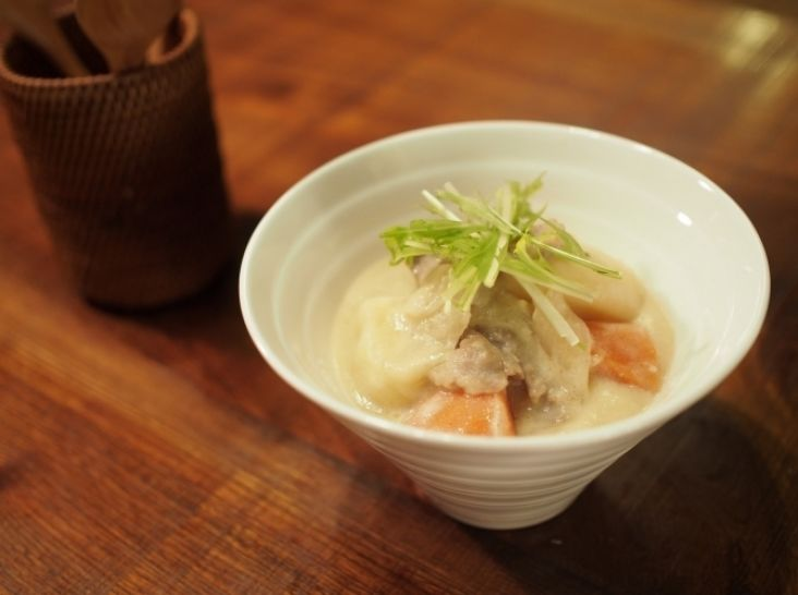 ラム肉の酒粕西京煮