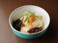韓国野菜のとろろ和え