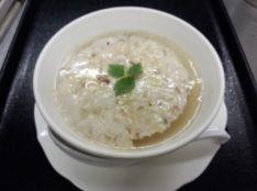 鶏肉のふわふわ濃厚蒸しスープ