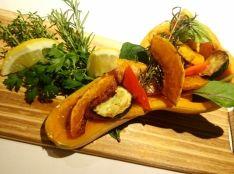 バターナッツ南瓜のローズマリーマリネ