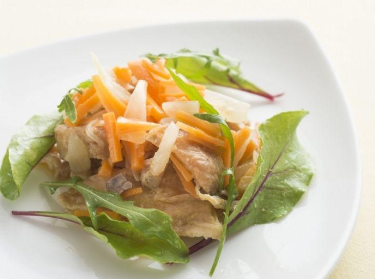 エスカベッシュ(お魚と野菜の酢漬け)