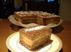 焼き林檎のショコラケーキ