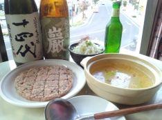 豚団子と白菜しゃぶしゃぶの鍋