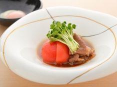 トマト「Delica rosso」のすき煮
