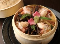 たっぷり韓国野菜の蟹ちらし