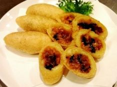 食感がたまらない!中華風揚げモチっ
