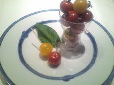 甘酸っぱいミニトマトのクルスティアン