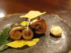 秋刀魚実山椒焼き(盛りつけ方)