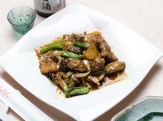 XO炒牡蠣(牡蠣のXO醤炒め)
