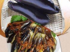 健康!秋茄子の醤油漬け♫湯~して漬け込むだけでーす♫