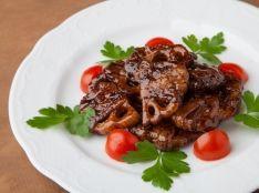 酢レンコンの黒酢酢豚風バルサミコソテー