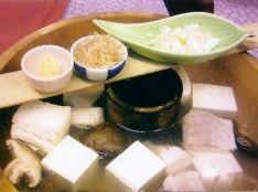 鱈の湯豆腐