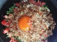 汁なし担々麺 with かつおぶし