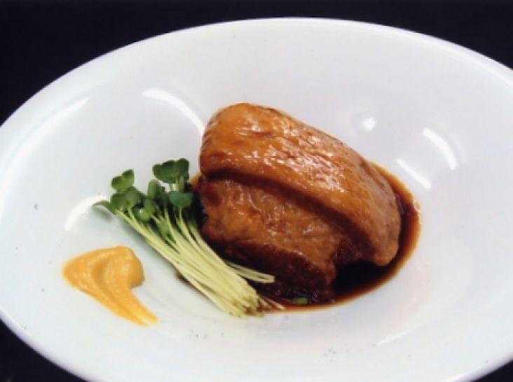 ポン酢仕上げのサッパリ角煮 酢豚風