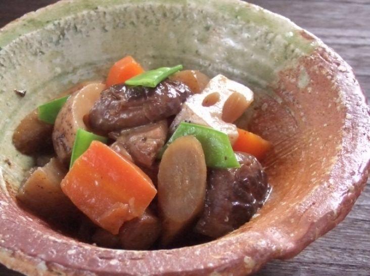 「日本の郷土料理!」筑前煮!煮しめ!がめ煮!