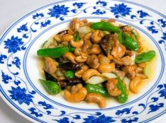 鶏肉とカシューナッツのピリ辛炒め