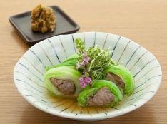 仙台白菜と牛肉の包み煮